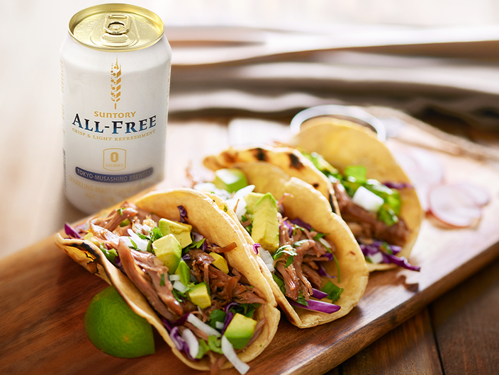Eat clean. Drink clean. ALL-FREE gives you 0 calories of tasty goodness and is great with any meal.